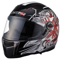 LS2 FF396 FT2 Demon Full Face Helmet