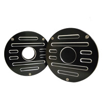 Whitewall Choppers Slotted Engine Round Wedges