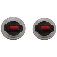 LS2 Knob Set with Red Lock Tab