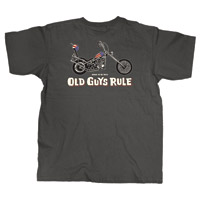 Old Guys Rule Born to be Wild T-shirt