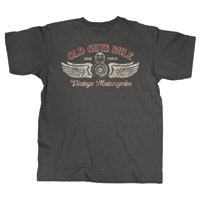 Old Guys Rule Vintage Motorcycles T-shirt