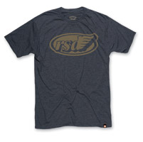 Roland Sands Design Cafe Wing Charcoal T-shirt