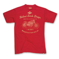 Roland Sands Design Manufacturing Red T-shirt