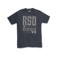 Roland Sands Design Overload Charcoal Heather T-shirt