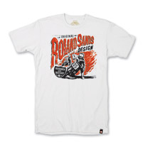Roland Sands Design Research and Destroy White T-shirt