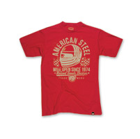 Roland Sands Design American Steel Red T-shirt