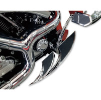 Carl Brouhard Designs Chrome Elite Edge Driver Floorboards