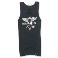 Roland Sands Design Soaring Ladies Black Tank Top