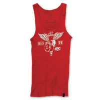 Roland Sands Design Soaring Ladies Red Tank Top