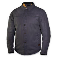 Roland Sands Design Chandler Black Textile Overshirt