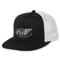 Roland Sands Design Cafe Wing Black/White Trucker Hat