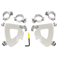 Memphis Shades Gauntlet Fairing Polished Trigger-Lock Mount Kit