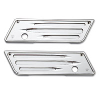 Arlen Ness Deep Cut Chrome Saddlebag Latch Covers