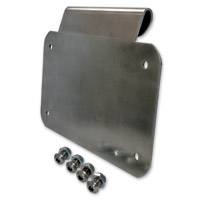 Alloy Art Burnished Aluminum License Plate Mount