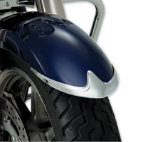 Show Chrome Accessories Chrome Contour Front Fender Tip Accent