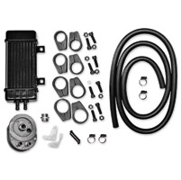 Jagg Vertical Frame-Mount Oil Cooler Kit
