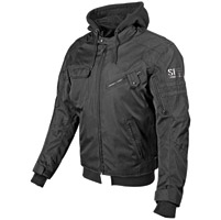 Speed and Strength Off the Chain Men's Stealth Textile Jacket