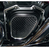 Eddie Trotta Designs Black Anodized Cross Cut Camshaft Cover