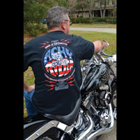 Sons of Arthritis Men's Achy Rider Black T-Shirt