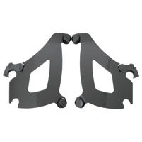 Memphis Shades Black Bullet Fairing Plate-Only Mount Kit