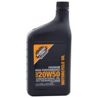 Milwaukee Twins  20W50 Engine Oil Quart