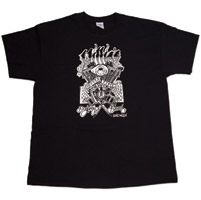 Tropical Tattoo  Chopper Time T-shirt