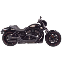 TAB Performance Black Slash Cut Slip-On Mufflers
