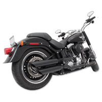 TAB Performance Black Angle Cut Slip-On Mufflers