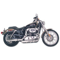 TAB Performance Chrome Straight Cut Slip-On Mufflers