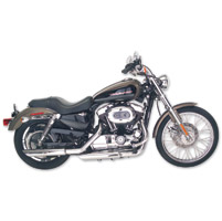 TAB Performance Chrome Angle Cut Slip-On Mufflers