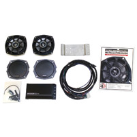 Klock Werks Rear/Trunk 5-1/4″ Speaker and High Performance AMP Kit