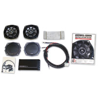 Klock Werks FLTR Front Fairing 5-1/4″ Speaker and High Performance AMP Kit