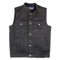 Crank & Stroker Supply Heavy Denim Vest