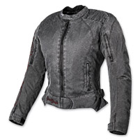 Speed and Strength Heart and Soul Vintage Black Textile Jacket