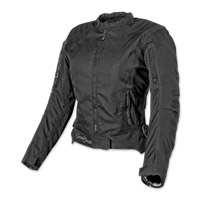 Speed and Strength Heart and Soul Black Textile Jacket