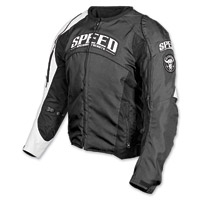 Speed and Strength Top Dead Center Black Textile Jacket