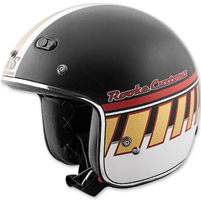 Speed and Strength Rooke Customs 2 Stroke SS600 Matte Black/Bronze Helmet
