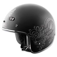 Speed and Strength American Beauty SS600 Matte Black Helmet