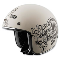 Speed and Strength American Beauty SS600 Matte Cream Helmet