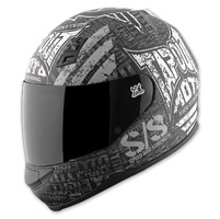 Speed and Strength Tapout Moto SS700 Matte Black/Charcoal Helmet