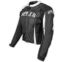 Speed and Strength Throttle Body Black Textile Jacket