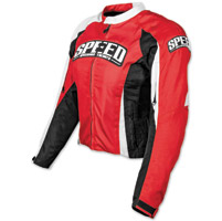 Speed and Strength Throttle Body Red Textile Jacket