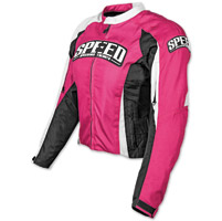 Speed and Strength Throttle Body Pink Textile Jacket