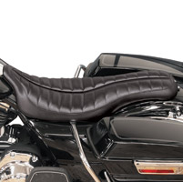 Roland Sands Design Flatout Enzo Distressed Black Seat