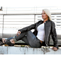 Milwaukee Motorcycle Clothing Co. Ladies Black Stu