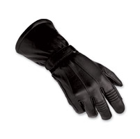 Biltwell Inc. Men's Black Gauntlet Gloves