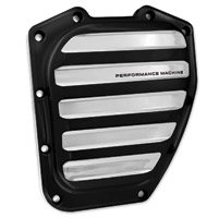 Performance Machine Twin Cam Contrast Cut Platinum Cam Cover