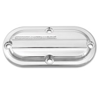 Performance Machine Drive Chrome Inspection Cover