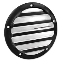 Performance Machine Drive Contrast Cut Platinum 5-Hole Derby Cover