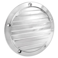 Performance Machine Drive Chrome 5-Hole Derby Cover
